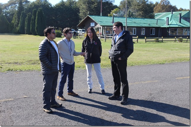 Director Nacional de Aeropuertos visitó aeródromo de Villarrica (1)