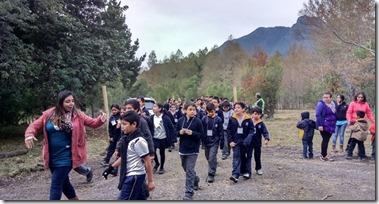FOTO ensayo evacuación volcánica