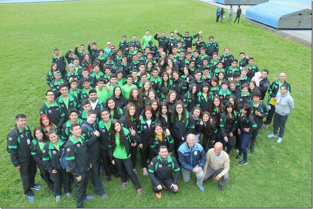 Delegacion Araucanía 2016