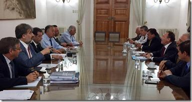Reunión parlamentarios Araucanía
