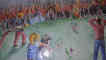 Estudiante de Angol obtiene segundo lugar en concurso Yo pinto mi