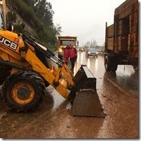 Vialidad Araucanía trabajando para responder a Emergencias  (1)