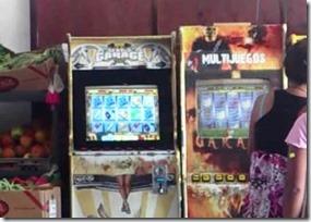 Foto referencial de maquinas de juego