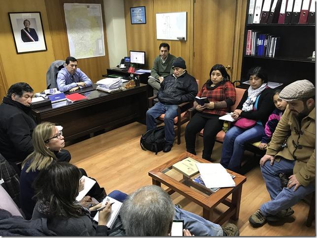 Reunion Director Regional con dirigentes Comunidades Mapuche Padre Las Casas (1)