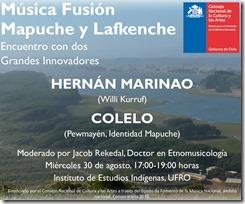 encuentro música mapuche