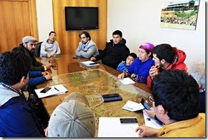 Director de Vialidad se reúne con dirigentes de Boyeco, Vilcún y Padre Las Casas (2)
