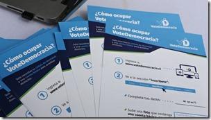 FOTO aplicación votedemocracia 2