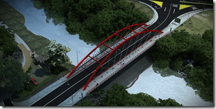Imagen Virtual Puente Manchuria - Curacautin 5