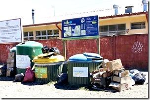 FOTO retiro campana reciclaje