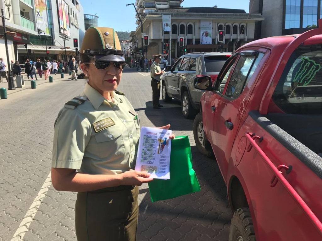 Carabineros de Temuco entrega recomendaciones de seguridad para la visita  del Papa Francisco  da73d35759b