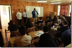Bienvenida Escuela Rayen Lafquen de Queule, Tolten (2)