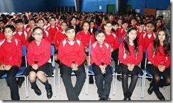 Con metas definidas el Liceo Bicentenario Araucanía inicia año 2018 (1)