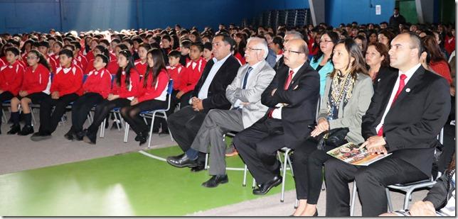 Con metas definidas el Liceo Bicentenario Araucanía inicia año 2018 (3)