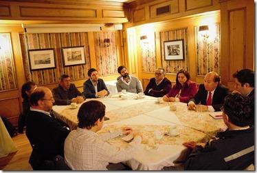 Mesa de trabajo conjunta Ministro Moreno y Zoframa