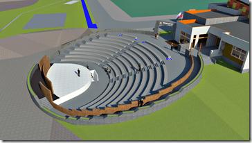 Anfiteatro y centro Cultural - Render 3