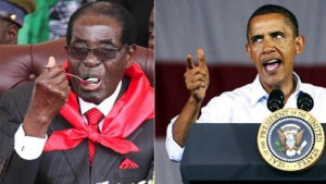 mugabe and obama