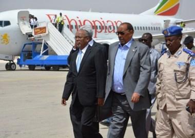 Madaxweyne Silanyo oo kaso laabtay Ethiopia 23 Jun 2015