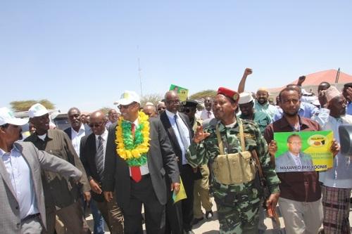 Maxamed Biixi Yoonis wasiirka Arrimaha Dibadda Somaliland