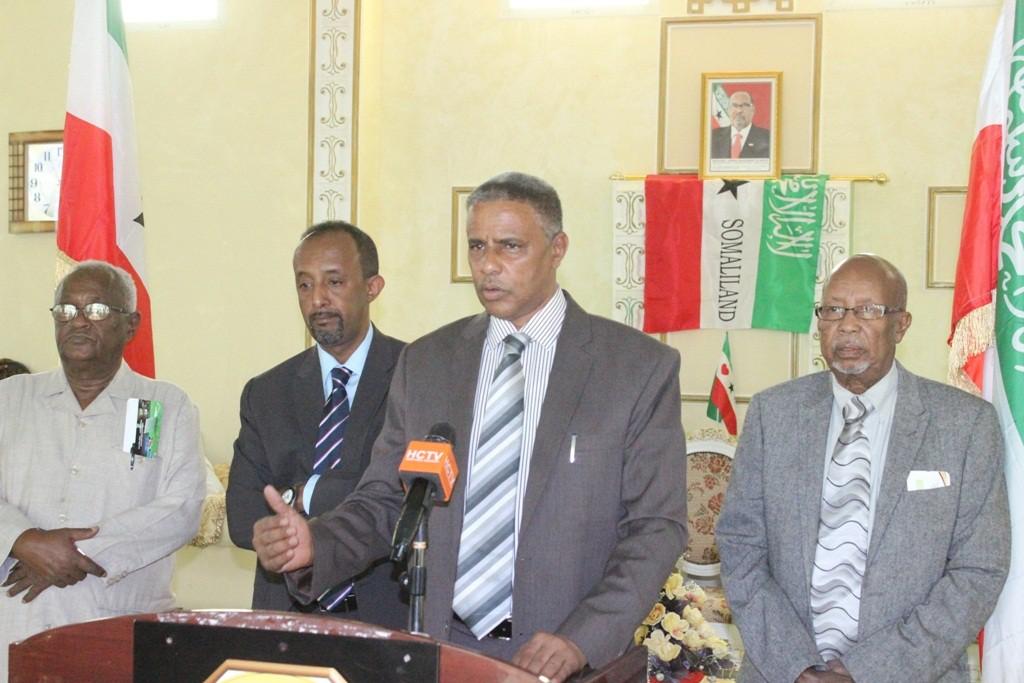 Wasiirka Duyulista Somaliland Maxamuud Xaashi Cabdi Araweelo News Network