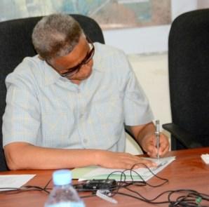 Wasiirka Madaxtooyadda Somaliland Maxamuud Xaashi Cabdi