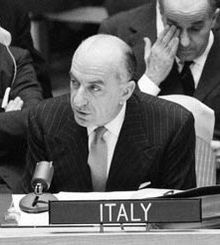 Ambassador ORTONA of Italy started with this remarks: