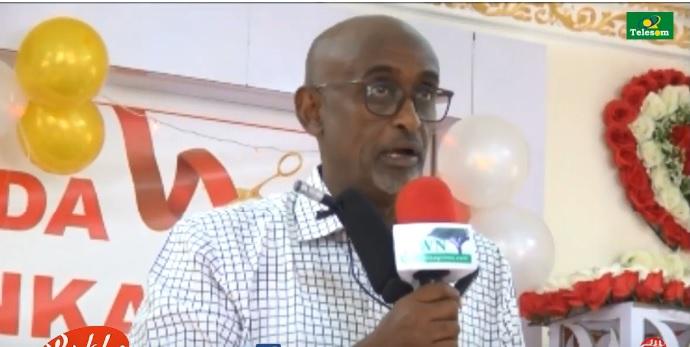 Guddoomiyaha Rugta Ganacsiga Somaliland, Jamaal Caydiid oo xadhiga ka jaray Huteelka BASHAIER PLAZA. ee Hargeysa 25 April 2019