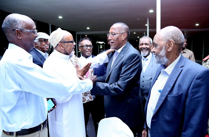 Kulanka Aqoonyahanka iyo Madaxweynaha Somaliland 20 July 2019 Madaxtooyadda Hargeysa