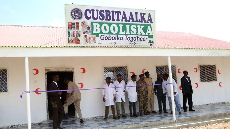 Madaxweynaha Somaliland Muuse Biixi oo xadhiga ka jaray Cusbitaalka Booliska Gobolka Togdheer 16 Sep 2019