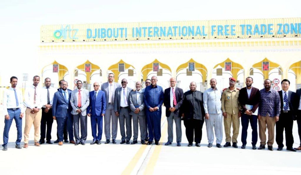 Madaxweynaha Somaliland oo booqday goobaha ka caagan cashuuraha ee Djibouti 4 sep 2019