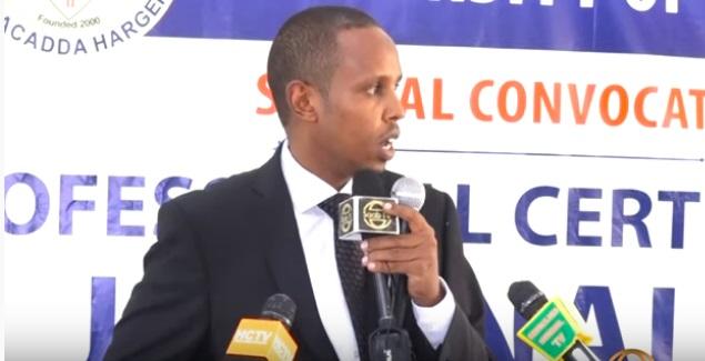 Agaasimaha Kuliyada Cilmi-baadhista Jaamacadda Hargeysa, Warsame Maxamuud Axmed