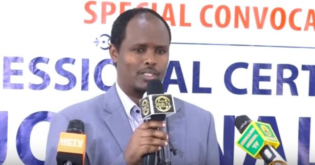 Guddoomiyaha Jaamacadda Hargeysa, Dr. Maxamuud Yuusuf Muuse