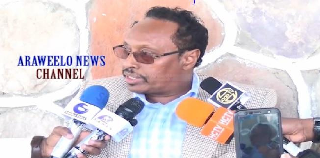 Xubinta uu soo xulay  Komihsnaka Doorashiooyinka Somaliland Xisbiga UCID, Xasan yusuf Ducaale oo ka hadlay doorashada Riya-raac 20 Nov 2019, by Araweelo News Network.
