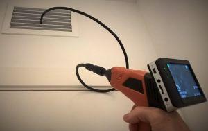 Inspección plaga de ratones en falso techo