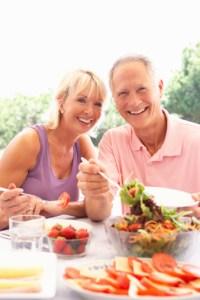 التغذية فوق سن الاربعين