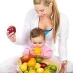 تغذية المرأة المرضعة والرضيع