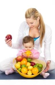 تغذية المرأة المرضعة