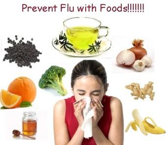 foods-flu