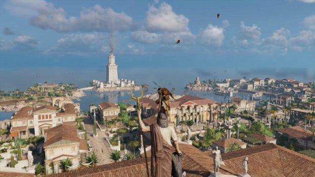 Assassin's Creed Origins الفردي الفردي ألعاب القصة