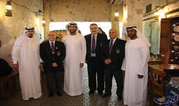 عبدالله الشرقى الإمارات تتطلع إلى استضافة بطولتي العالم وآسيا للقوة البدنية