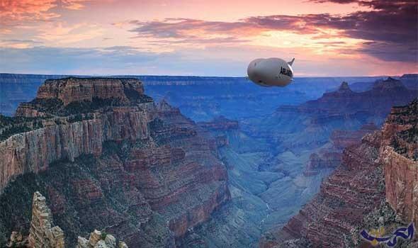 العالم يساعد لاستقبال أول رحلة جوية للمناطق الخلابة