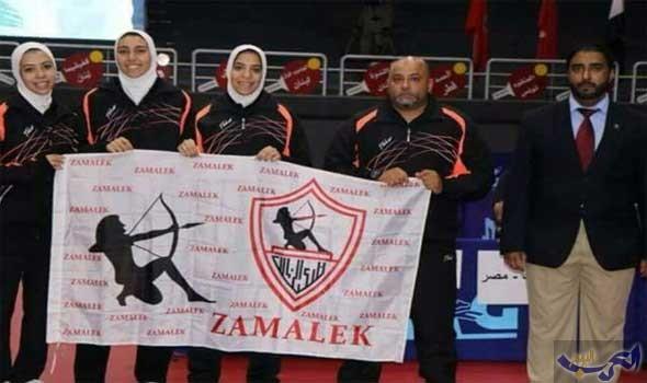 سيدات الزمالك أبطال العرب في تنس الطاولة