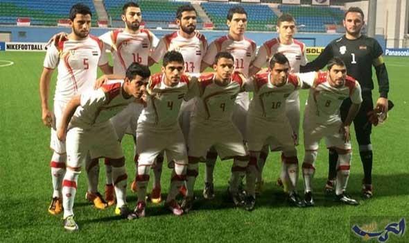 منتخب سورية الأولمبي لكرة القدم يفوز على منتخب أندونيسيا للرجال وديا