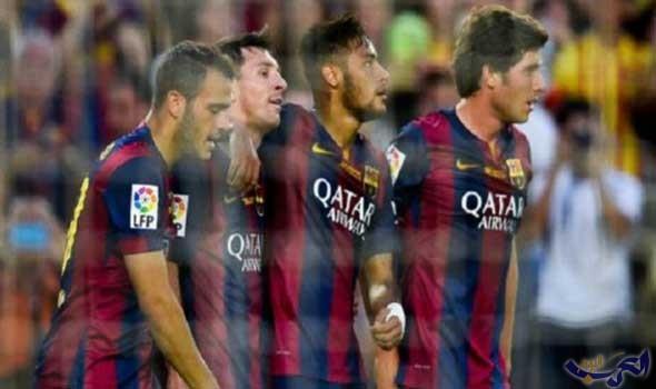 برشلونة يفوز بصعوبة على حساب مضيفه فريق أتلتيك بيلباو بنتيجة 20