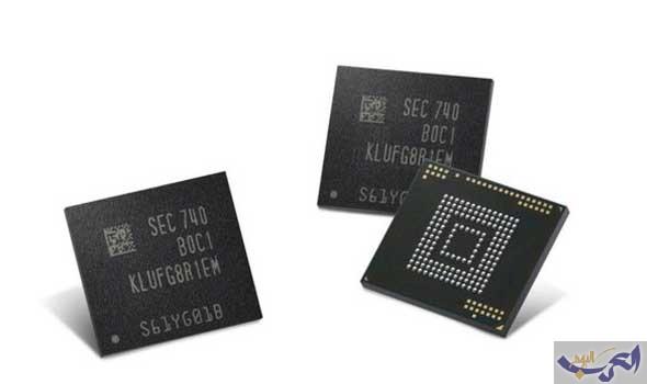 سامسونغ تبدأ عملية إنتاج ضخمة لأول سعة تخزين بحجم 512 غيغابايت