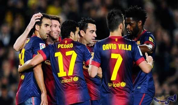 برشلونة يُغرق الغواصات الصفراء ويعود إلى الانتصارات بثنائية