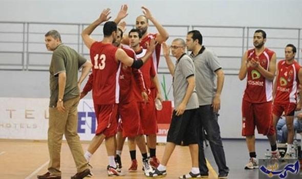 فوز الأهلي والزمالك والجزيرة وسبورتنغ في دوري كرة السلة