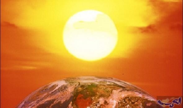انخفاض معدل الحرارة على الأرض في منتصف القرن الجاري