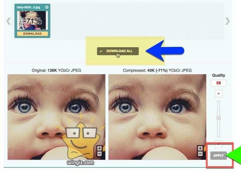 تقليل حجم الصورة بنفس الجودة
