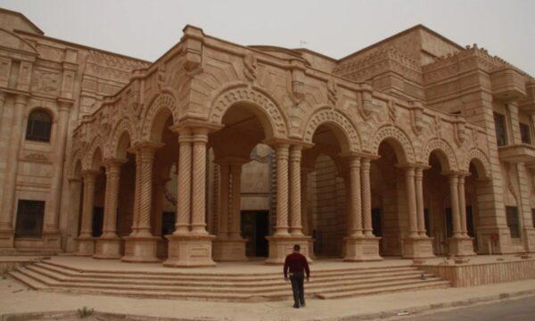القصر الرئاسي في محافظة صلاح الدين (رويترز) قصور صدام حسين الأكثر تميزاً بتصاميمها وسياسيو ما بعد 2003 يتنعمون بها (صور)