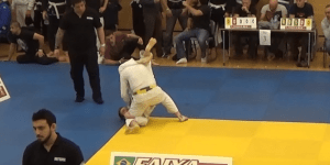 bjj first win beaton up for a year